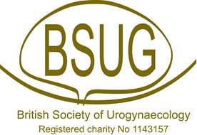 The British Society of Urogynaecology logo